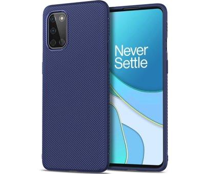 OPPRO OnePlus 8T Case TPU GripLine Blau