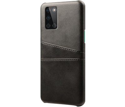 OPPRO OnePlus 8T Case Slim Leather Card Holder Black