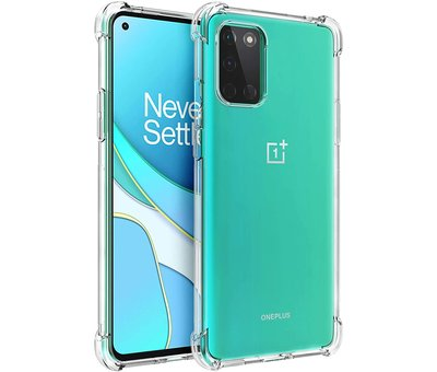 OPPRO OnePlus 8T Hoesje Xtreme TPU Transparant
