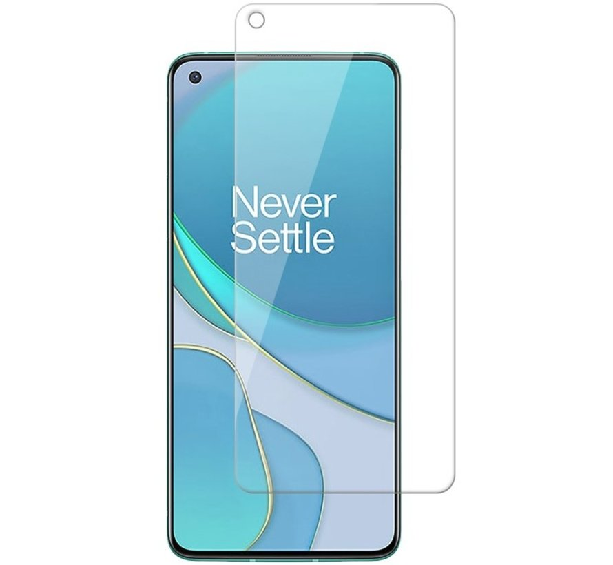 OnePlus 8T Glazen Screen Protector 9H+ 2.5d (2 st.)