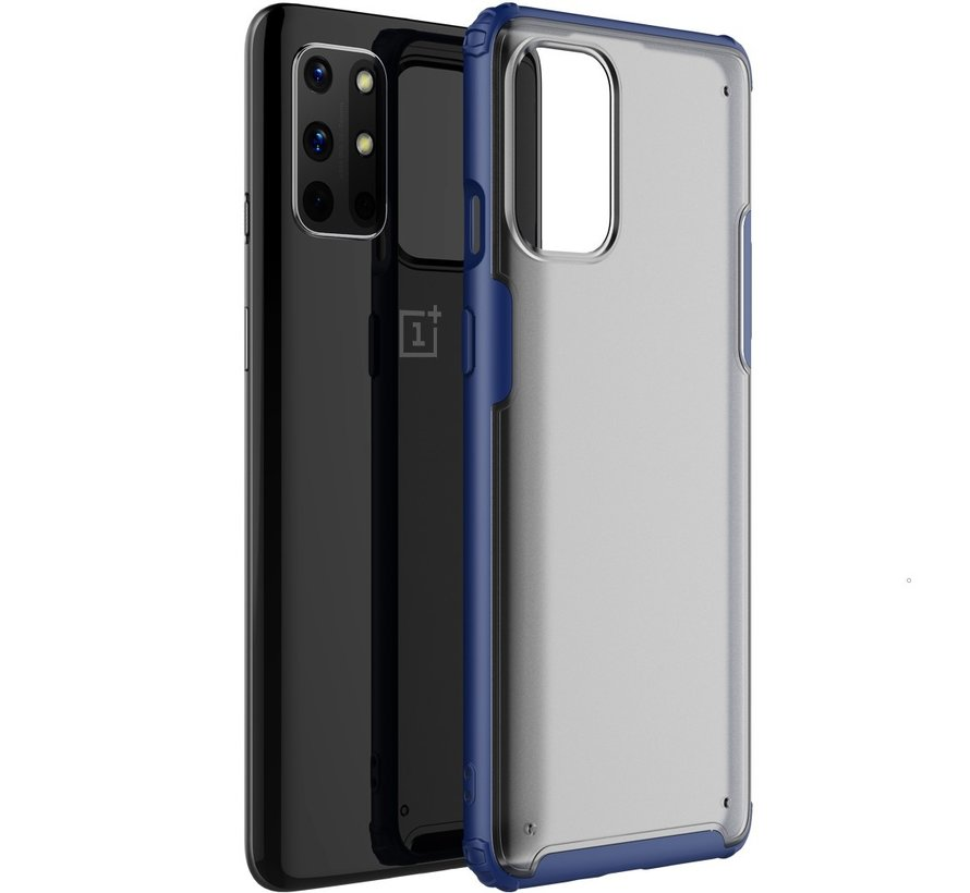 OnePlus 8T Merge Bumper Hoesje Blauw