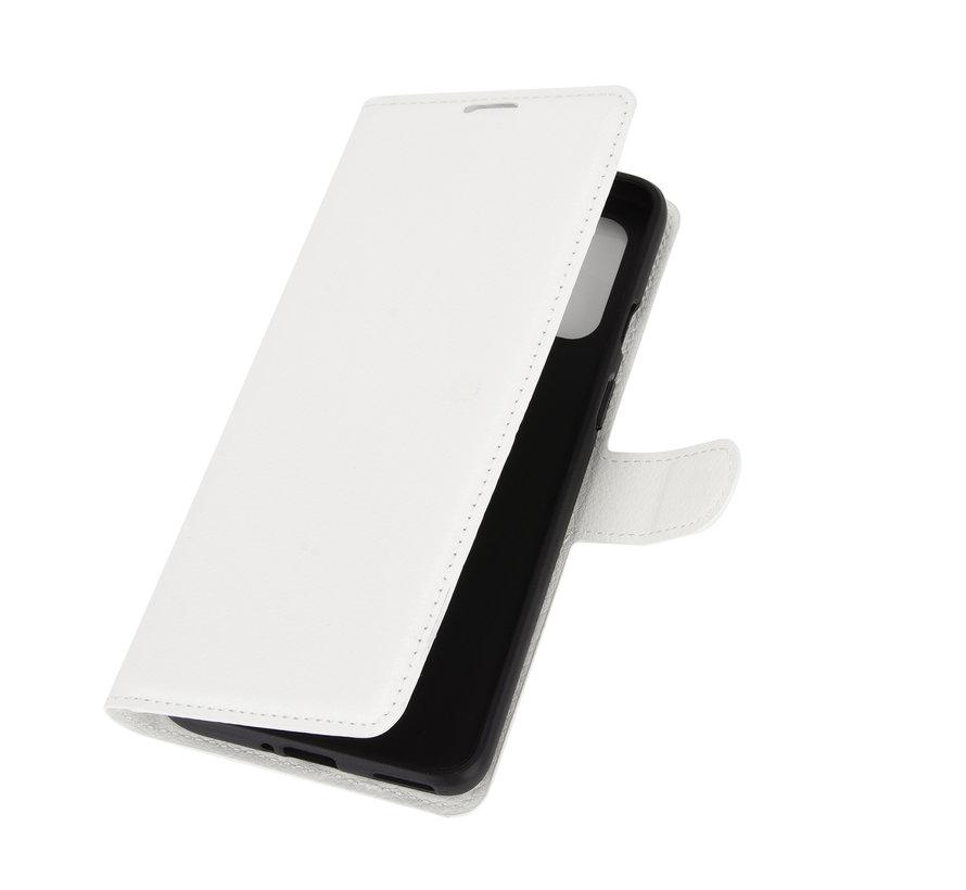OnePlus 8T Wallet Flip Case Weiß