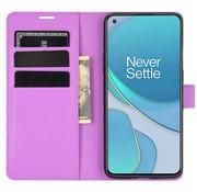 OPPRO OnePlus 8T Wallet Flip Case Paars