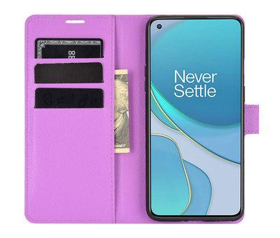 OPPRO OnePlus 8T Wallet Flip Case Lila