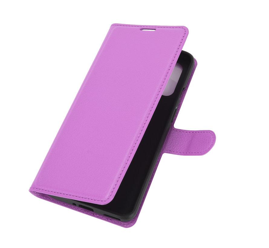 OnePlus 8T Wallet Flip Case Lila