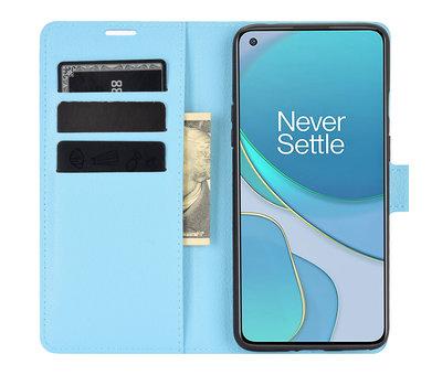OPPRO OnePlus 8T Wallet Flip Case Blau