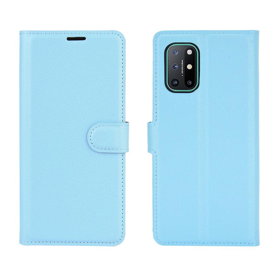 OnePlus 8T Wallet Flip Case Blau