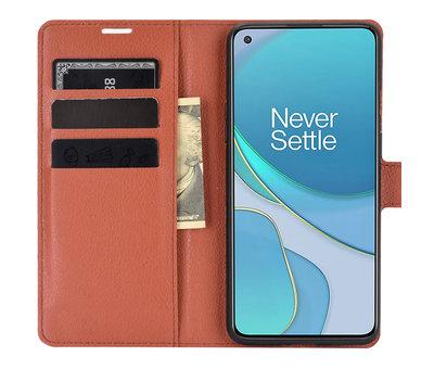 OPPRO OnePlus 8T Wallet Flip Case Bruin