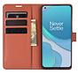 OnePlus 8T Wallet Flip Case Bruin