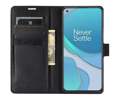 OPPRO OnePlus 8T Wallet Flip Case Schwarz