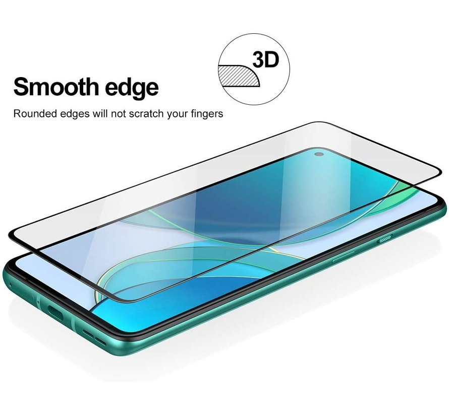 OnePlus 8T 3D Tempered Glass Screen Protector (2 st.)