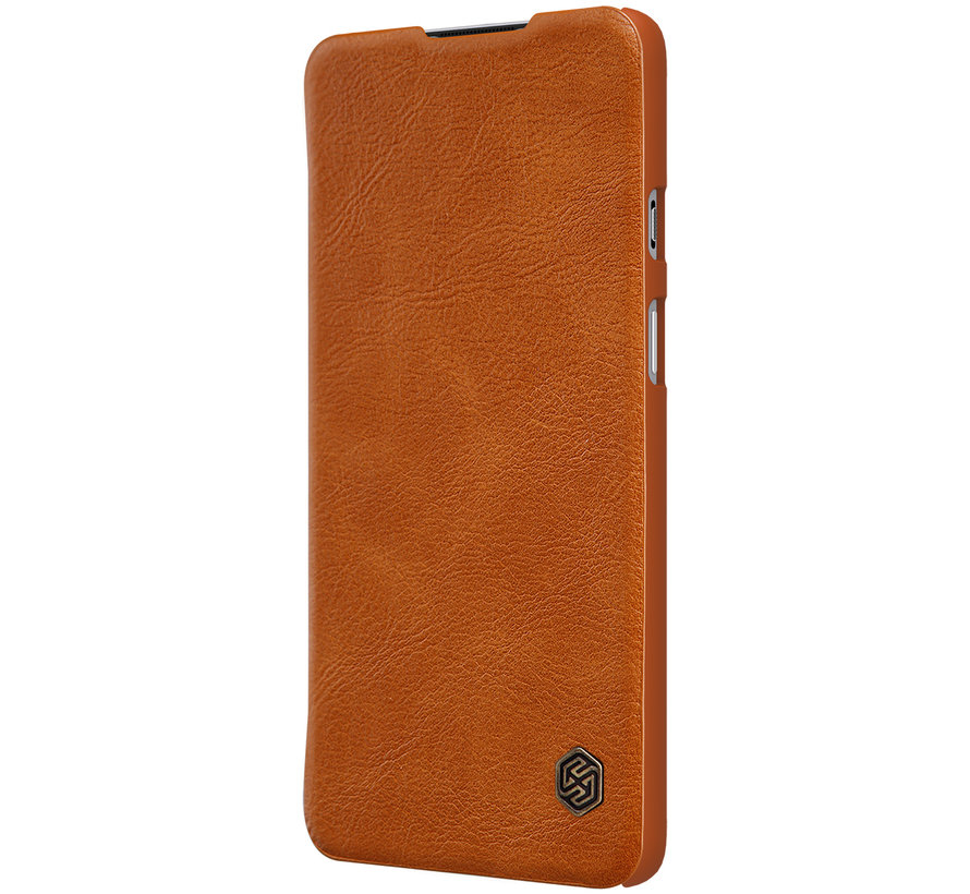 OnePlus 8T Flip Case Qin Brown