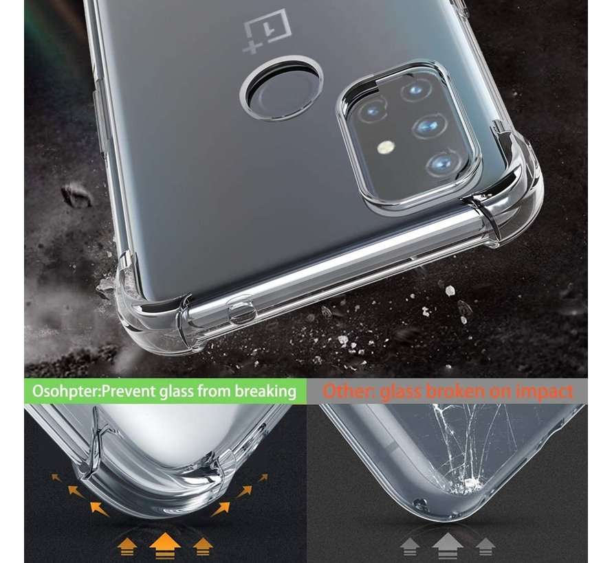 OnePlus Nord N10 5G Case Xtreme TPU Transparent