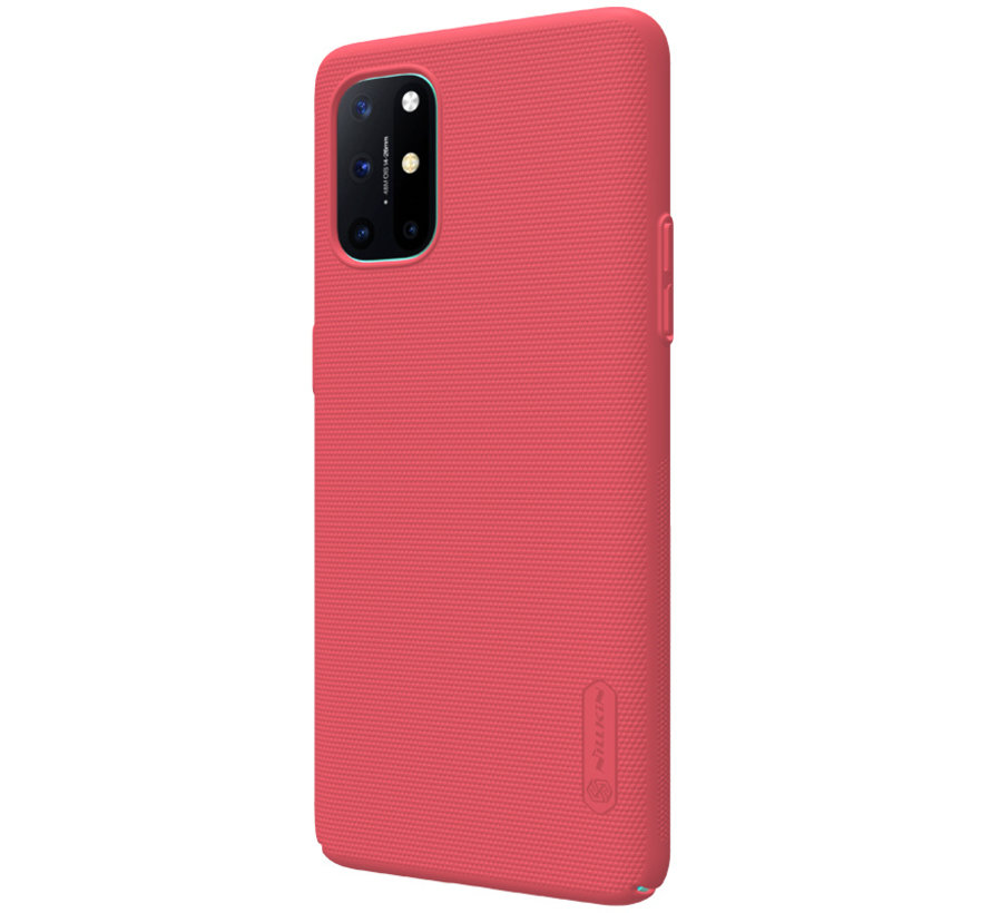 OnePlus 8T Hoesje Super Frosted Shield Rood