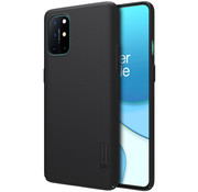 Nillkin OnePlus 8T Hoesje Super Frosted Shield Zwart