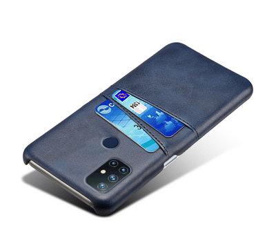 OPPRO OnePlus Nord N10 5G Case Slim Leder Kartenhalter Blau