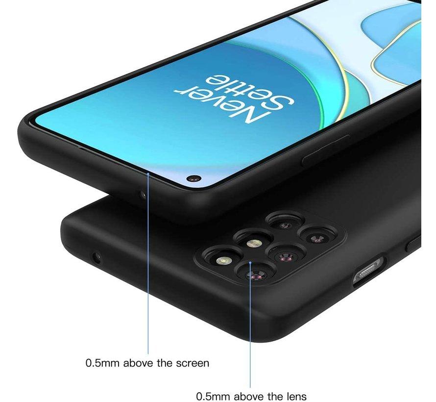 OnePlus 8T Case Flüssiges Silikon Schwarz