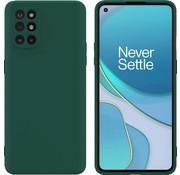 OPPRO OnePlus 8T Hoesje Liquid Silicone Groen