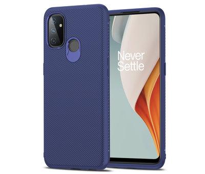 OPPRO OnePlus Nord N100 Case TPU GripLine Blau