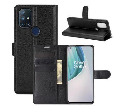 OPPRO OnePlus Nord N10 5G Wallet Flip Case Zwart