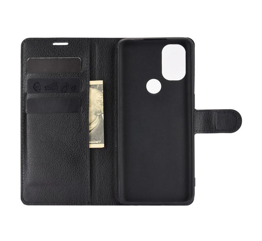 OnePlus Nord N10 5G Wallet Flip Case Zwart