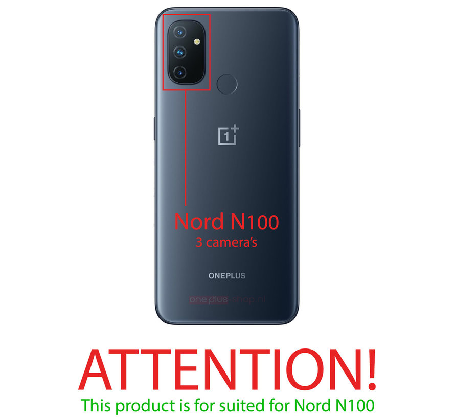 OnePlus Nord N100  Hoesje TPU Transparant