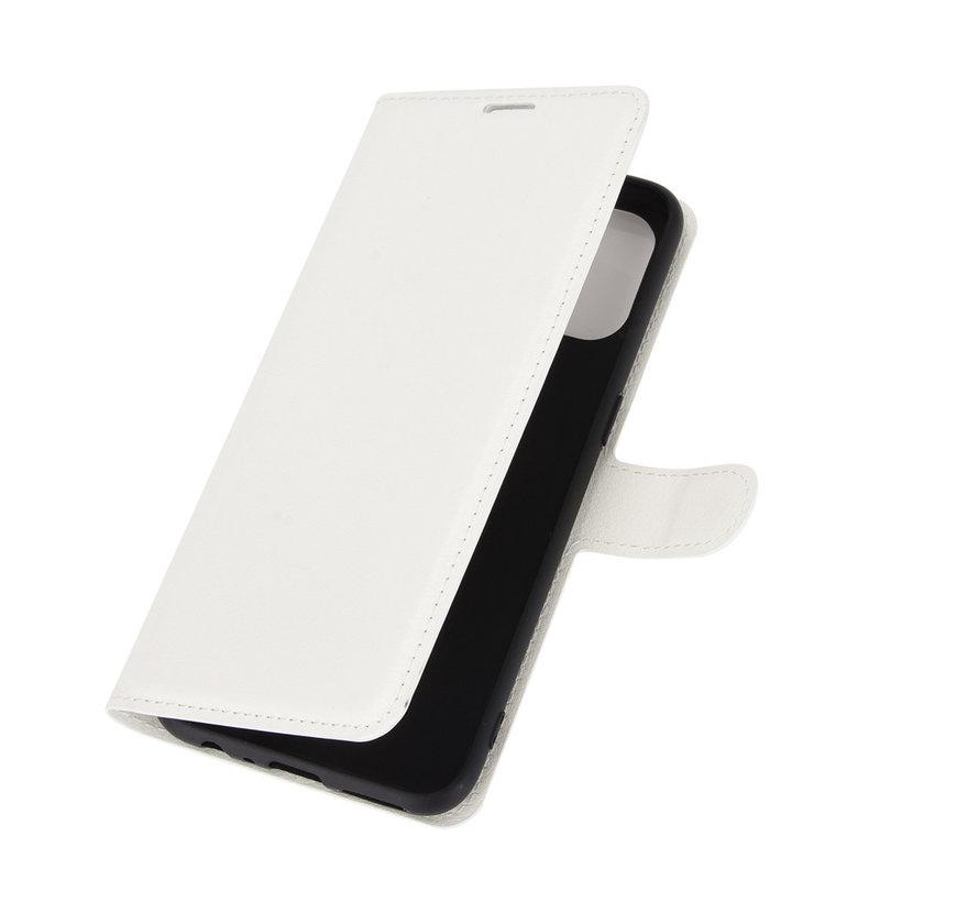 OnePlus Nord N100 Wallet Flip Case Weiß