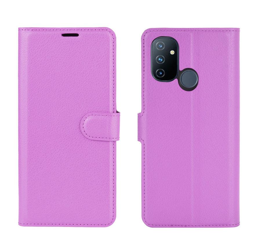OnePlus Nord N100 Wallet Flip Case Lila