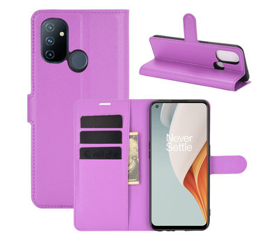 OPPRO OnePlus Nord N100 Wallet Flip Case Lila