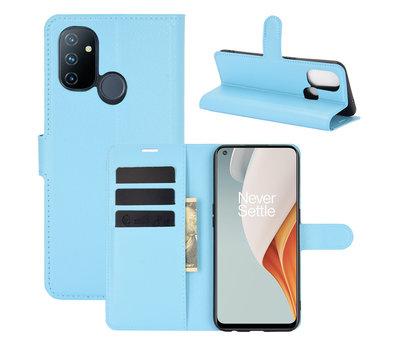OPPRO OnePlus Nord N100 Wallet Flip Case Blauw