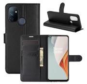OPPRO OnePlus Nord N100 Wallet Flip Case Black