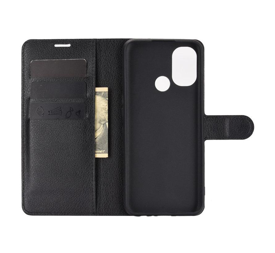 OnePlus Nord N100 Wallet Flip Case Zwart