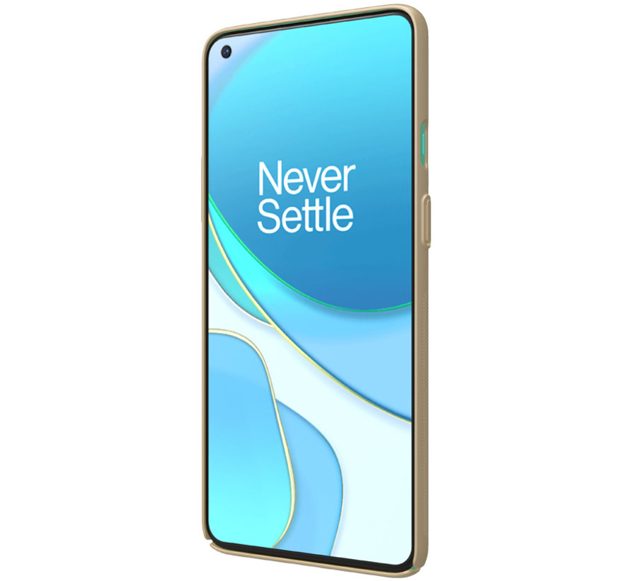 OnePlus 8T Gehäuse Super Frosted Shield Gold