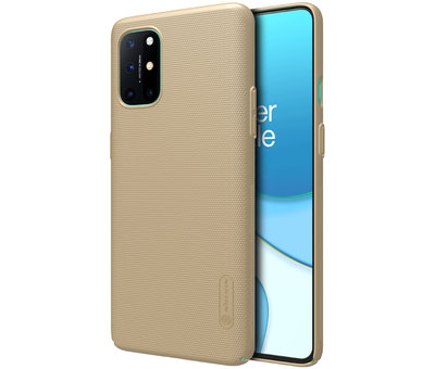 Nillkin OnePlus 8T Gehäuse Super Frosted Shield Gold