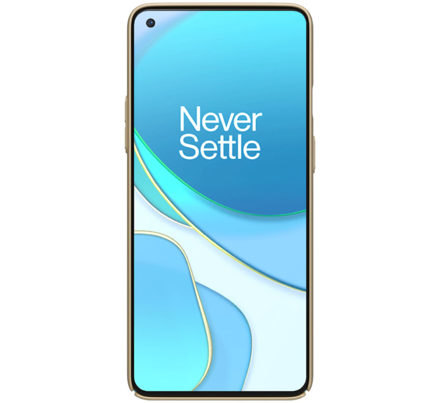 OnePlus 8T Hoesje Super Frosted Shield Goud