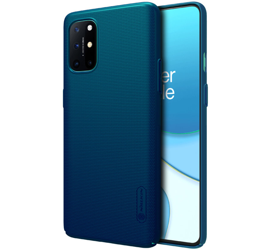 OnePlus 8T Hoesje Super Frosted Shield Blauw