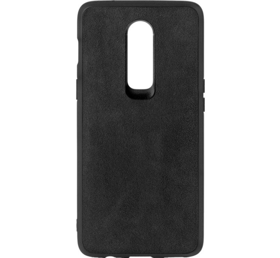 OnePlus 6 Hoesje Premium Alcantara