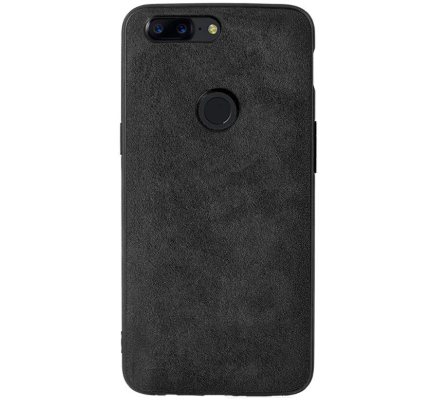 OnePlus 5T Hoesje Premium Alcantara
