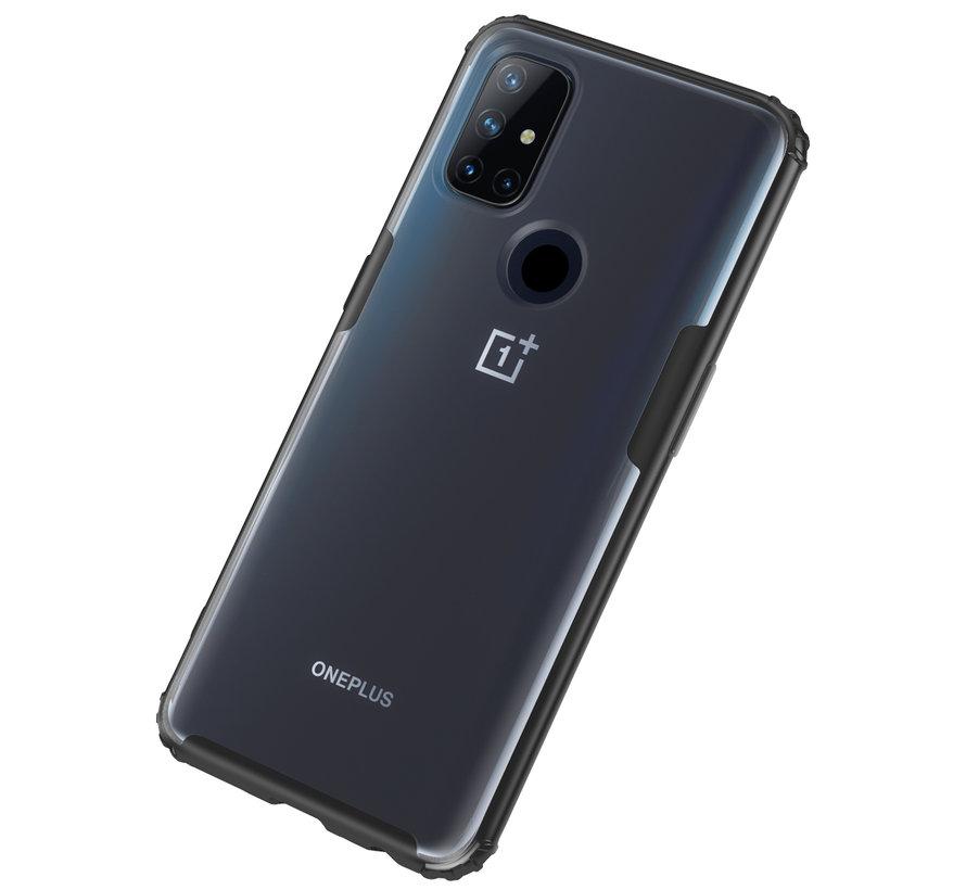 OnePlus Nord N10 5G Merge Bumper Hoesje Zwart