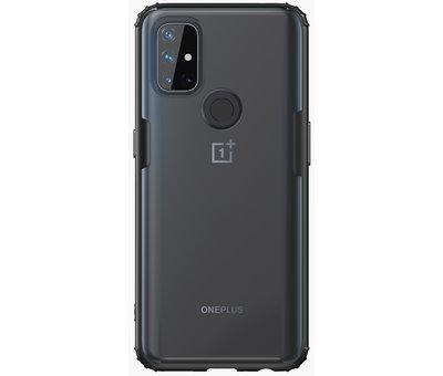 OPPRO OnePlus Nord N10 5G Merge Bumper Hoesje Zwart