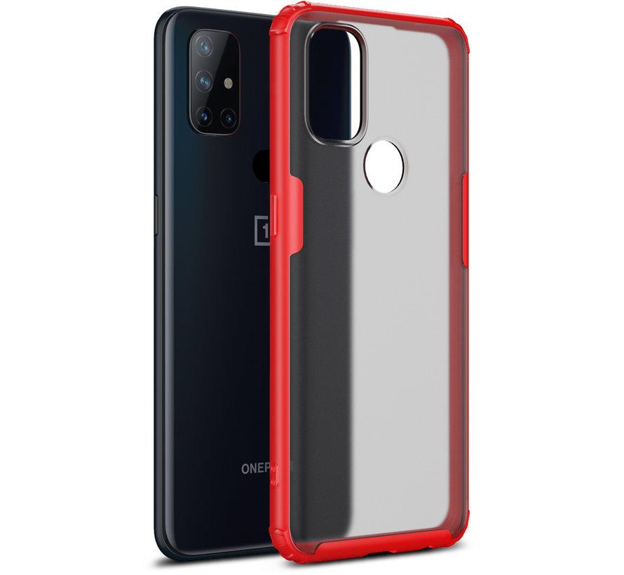 OnePlus Nord N10 5G Merge Bumper Case Rot