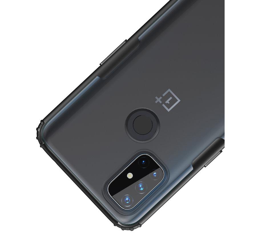 OnePlus Nord N10 5G Merge Bumper Hoesje Blauw
