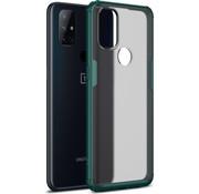 OPPRO OnePlus Nord N10 5G Merge Bumper Case Grün