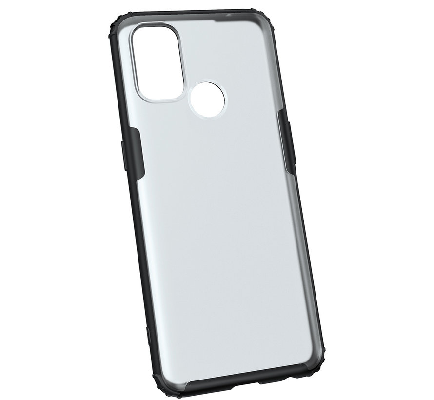 OnePlus Nord N100 Merge Bumper Hoesje Groen