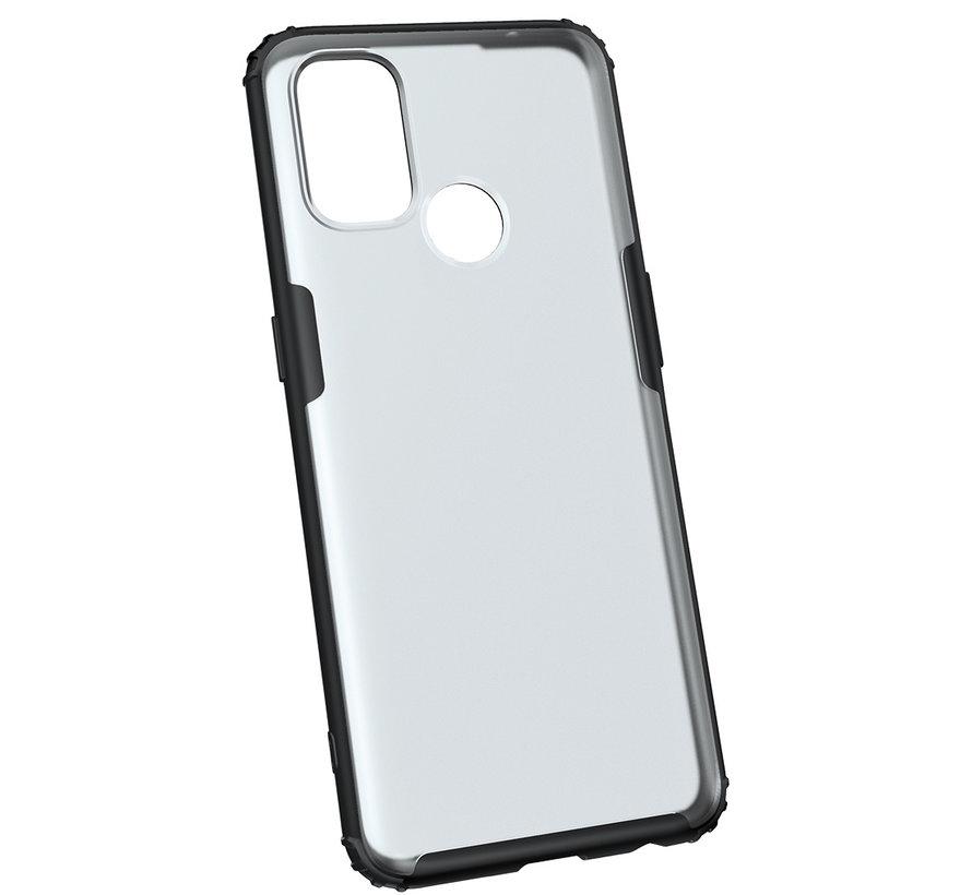 OnePlus Nord N100 Merge Bumper Case Schwarz