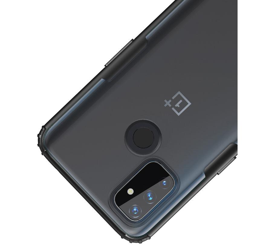 OnePlus Nord N100 Merge Bumper Hoesje Zwart
