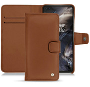 Noreve OnePlus Nord Wallet Case Premium Nappa Brown