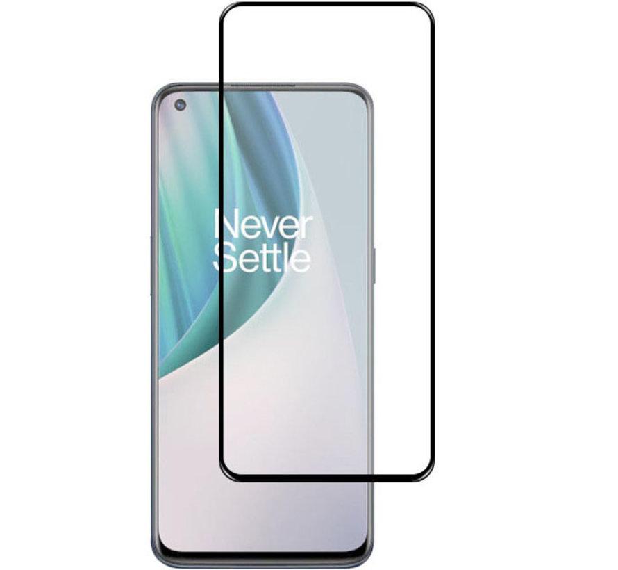 OnePlus Nord N10 5G 3D Displayschutzfolie aus gehärtetem Glas (2 Stk.)