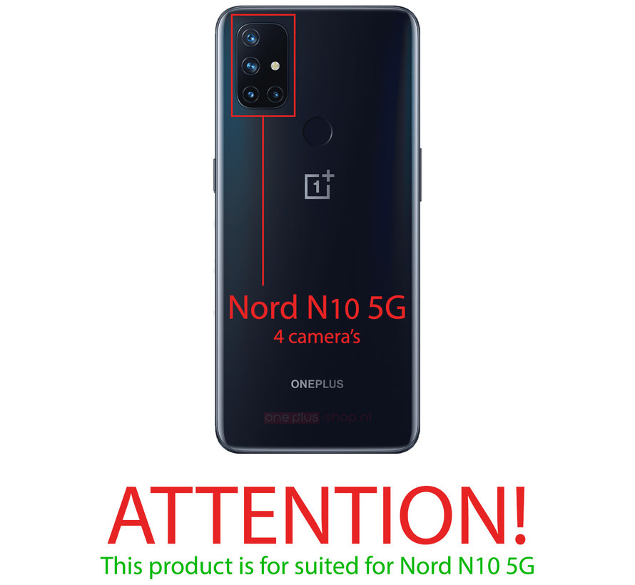 OnePlus Nord N10 5G 3D Tempered Glass Screen Protector (2 st.)