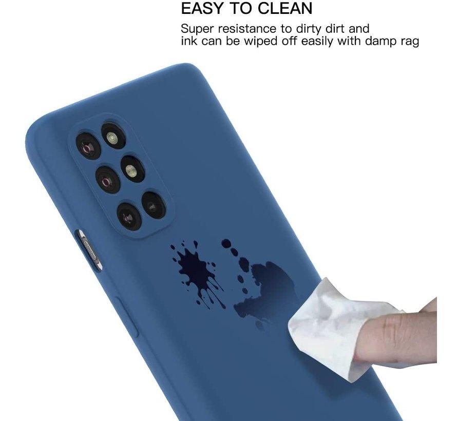 OnePlus 8T Case Flüssiges Silikonblau